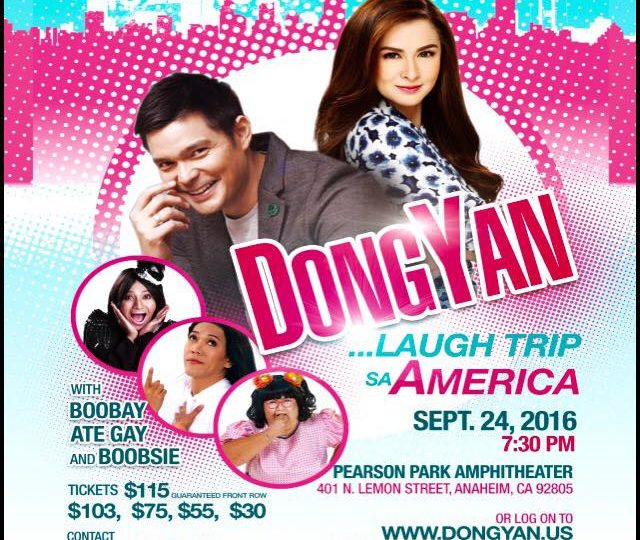 Dongyan …Laugh Trip Sa America
